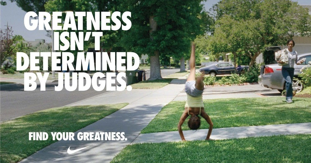 Natalie Webster Hamilton Campus Nike Find Your Greatness Campaign 2012