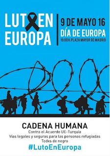 #LutoEnEuropa: salgamos a la calle en protesta por el acuerdo de la UE sobre refugiados