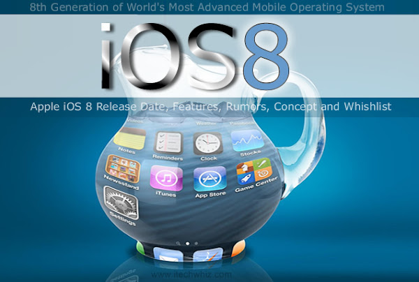 Apple iOS 8 Features, Rumors, Concept and Whishlist