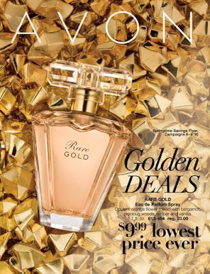 Avon Golden Deals campaigns 8-9 '16