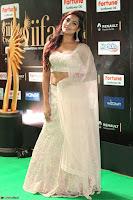 Prajna Actress in backless Cream Choli and transparent saree at IIFA Utsavam Awards 2017 0118.JPG