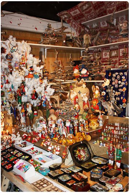 décoration russe du marché de Noël de la Défense