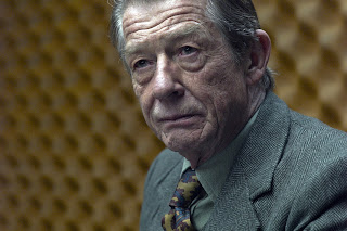 john hurt as control in Tinker Tailor Soldier Spy