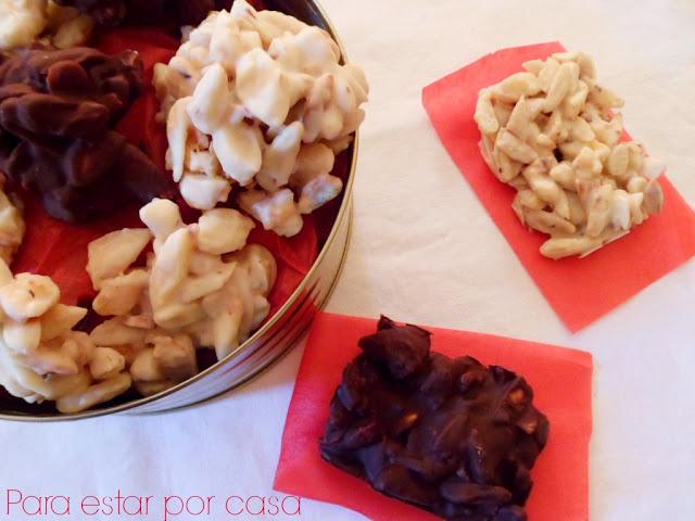 Rocas de chocolate de Paco Torreblanca - Para estar por casa