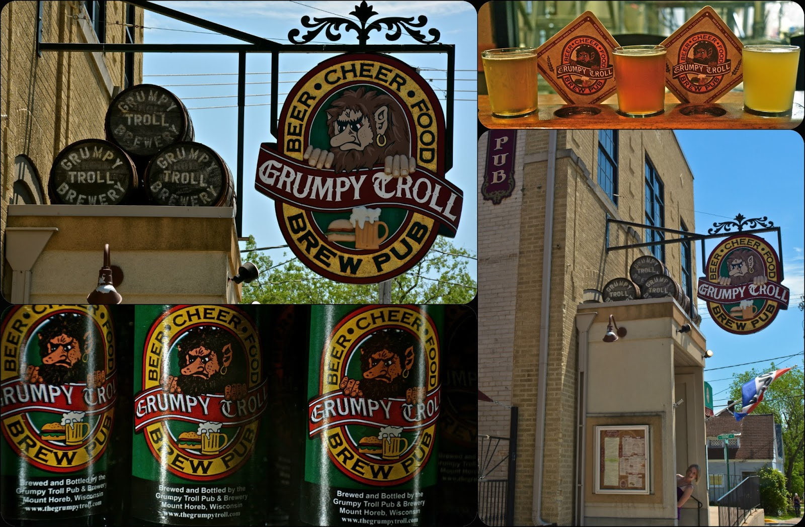 Pizza Is My Tour Guide: Grumpy Troll Pizzeria Mount Horeb WI