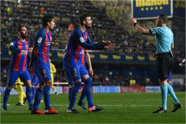 Iglesias Villanueva di Laga Valencia vs Barcelona