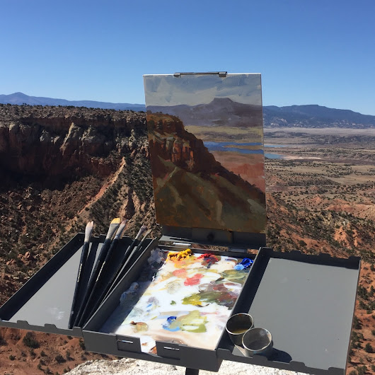 Female Painter Transforms Dude Ranch