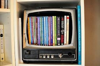 televisor reciclado