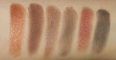 Maybelline The Blushed Nudes Eye Shadow Palette review swatch swatches