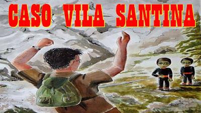 CASO VILA SANTINA - UM DOS PRIMEIROS CONTATOS COM OS OVNIS