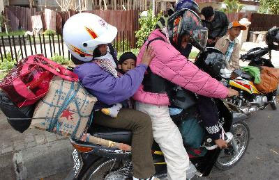 Tips Mudik Aman Menggunakan Sepeda Motor