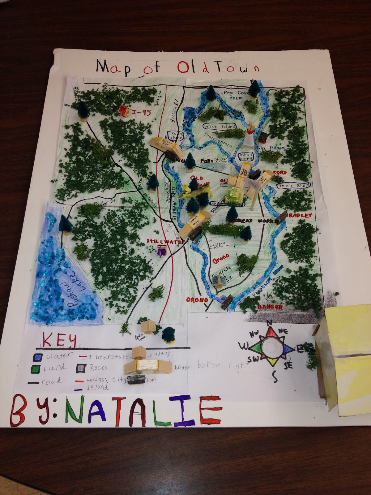 Mrs Williams Third Grade Old Town Map Project