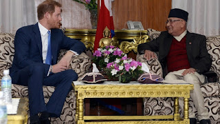 Prince Harry Begins 5-day Trip To Nepal