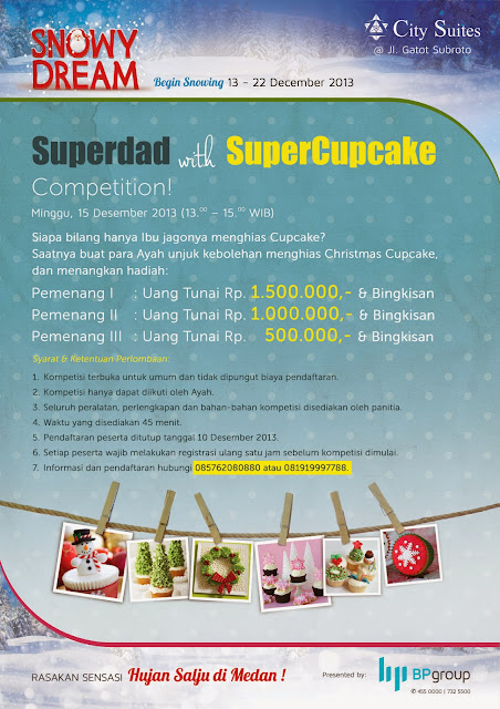 Hujan Salju di Medan - Superdad with SuperCupcake https://www.ceritamedan.com/