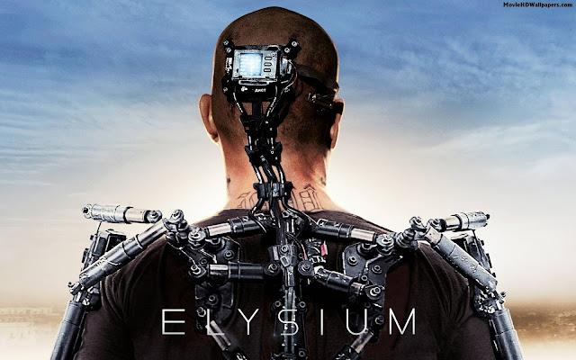 Fond Ecran Elysium film hd
