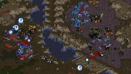 StarCraft 1 PC Game Screenhot