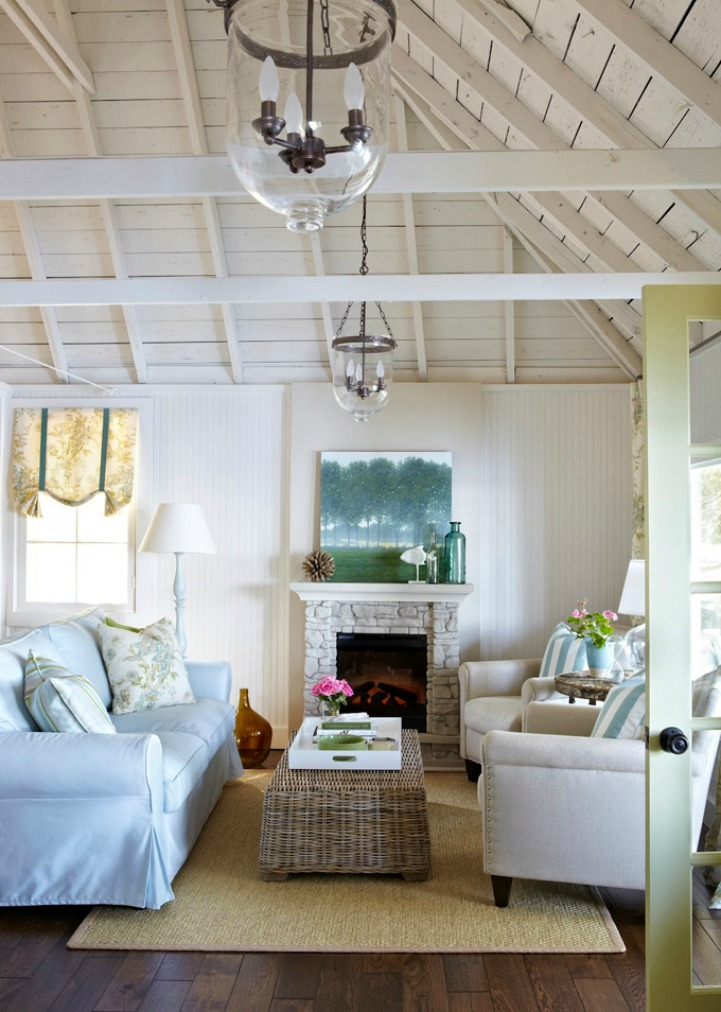 Spotted from the crow's nest: Beach House Tour- Cottage on the ...