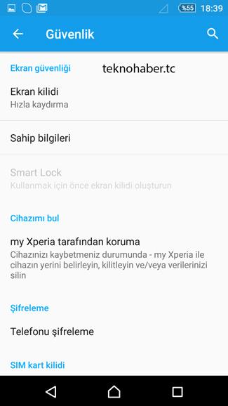 android sahip bilgileri