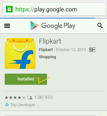 flipkart install