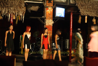 entertainment at yangon chinatown