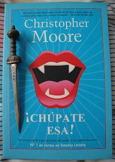 Portada del libro ¡Chúpate esa!, de Christopher Moore