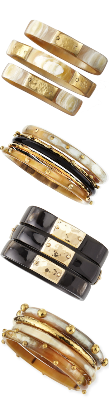 ASHLEY PITTMAN ASSORTED BANGLES