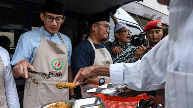 Jubir Tim Prabowo - Sandiaga: Cucu Bung Hatta Hanya Baper