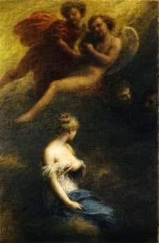 A Danação de Fausto - Henri Fantin-Latour - Suas melhores pinturas ~ francês