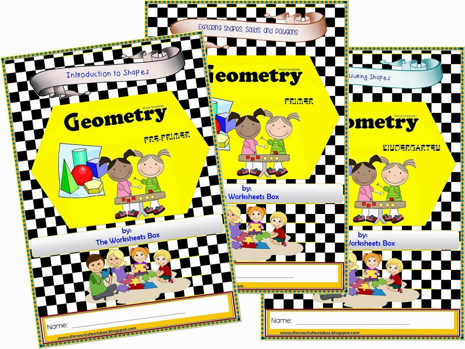 The Worksheets Box Geography