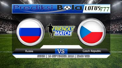 PREDIKSI RUSIA VS REPUBLIK CEKO 10 SEPTEMBER 2018