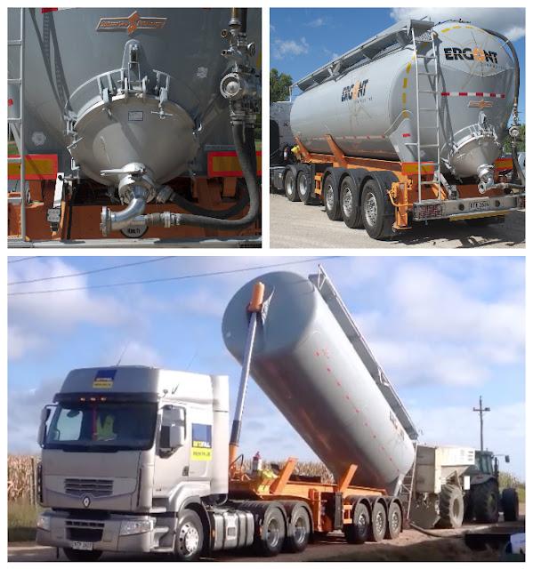 Transporte de cemento portland en cisternas especiales | Reforzando la flota.