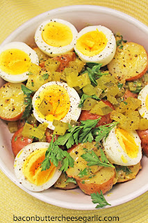 Warm Potato Salad with Mustard Vinaigrette