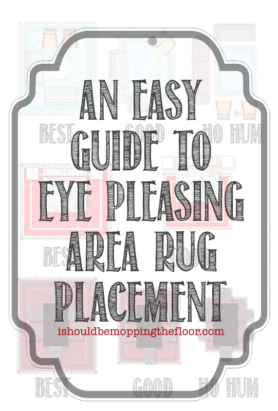 i should be mopping the floor: Easy Guide to Area Rug Placement ...