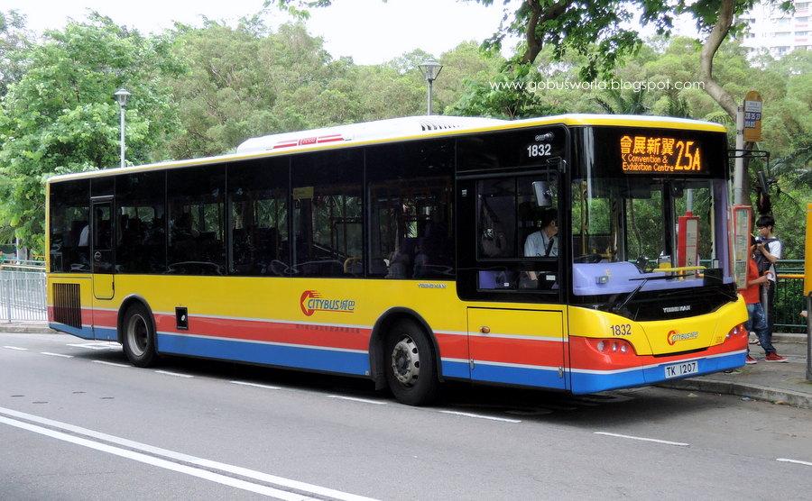 Go Bus's World: [城巴]新單層巴士-城巴長青年Youngman JNP6120GR