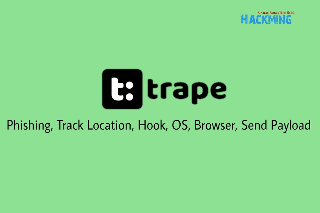 Trape Tool : How to Easily Track location using Kali Linux