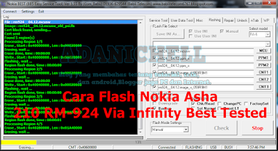 Cara Flash Nokia Asha 210 RM-924 Via Infinity Best Tested