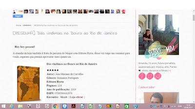 Resenha das Vindimas no Douro ao Rio de Janeiro