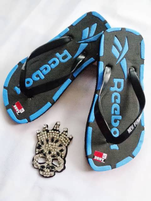 Sandal Murah Jepit Ferzic biru