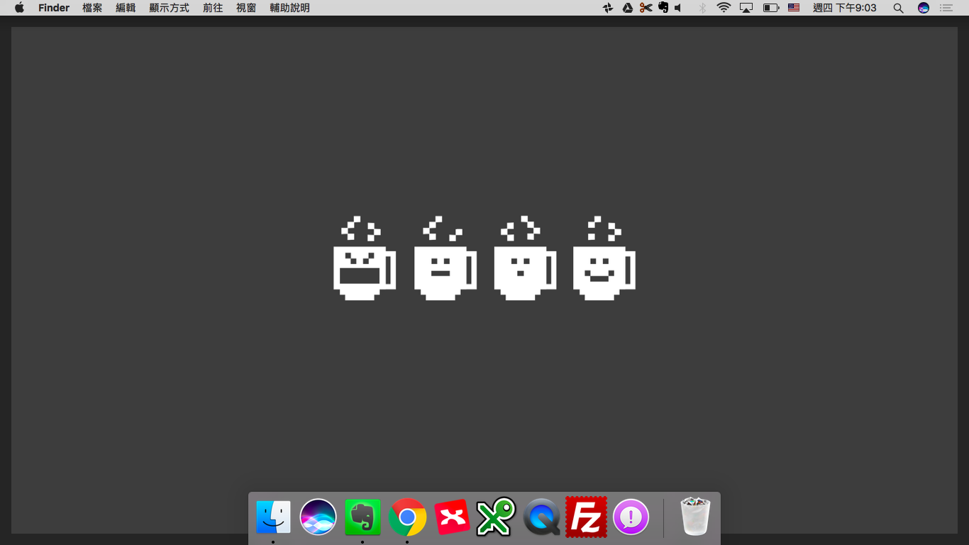 推薦 Simple Desktops 令人專注但不無聊的極簡桌面