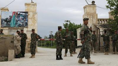 Taliban töten mindestens 40 Polizisten und Soldaten