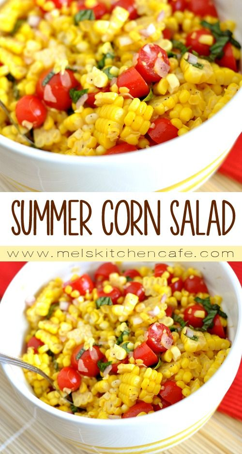 SUMMER CORN SALAD #summerfood #corn #salad #veganrecipes #vegan #veggies #vegetarian #vegetarianrecipes #easyvegetarianrecipes