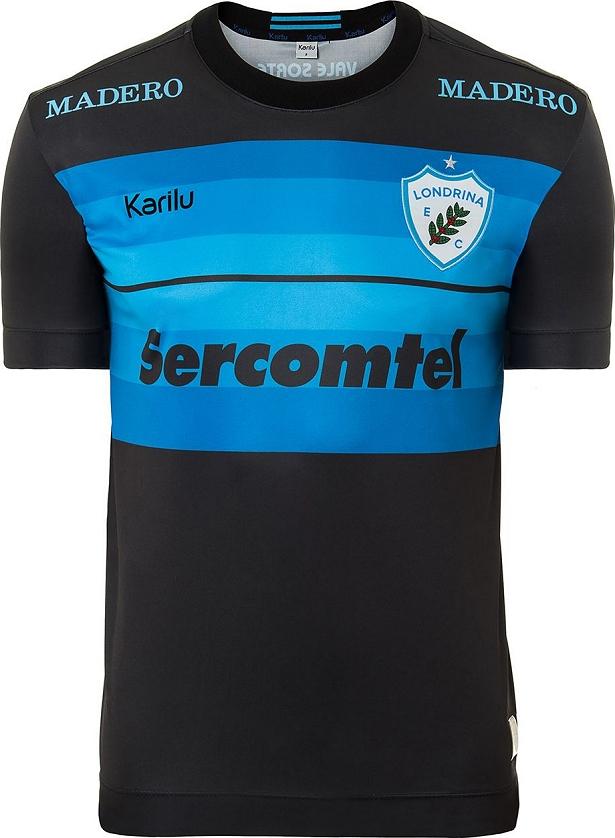 9e1fd2e61 Karilu apresenta o quinto uniforme do Londrina em 2016 - Testando ...