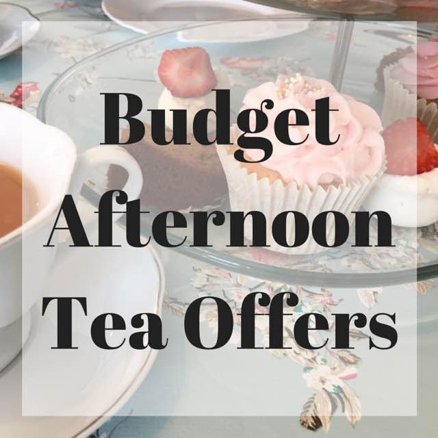 Budget Afternoon Tea Offers