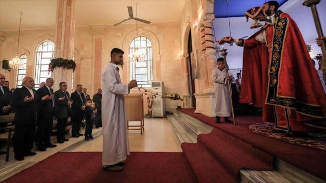 Cristianos sirios celebran Navidad tras la derrota de Daesh
