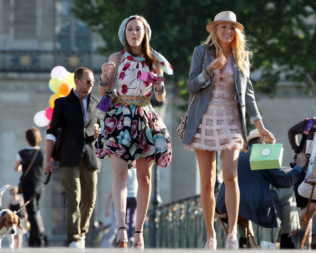 Amizada da Blair e Serena em Gossip Girl