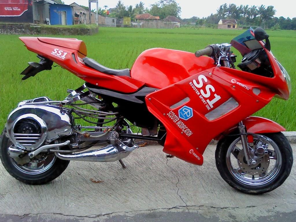 99 Modifikasi Motor Win Klasik Terupdate Kinyis Motor