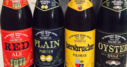 Porterhouse beers in bottles