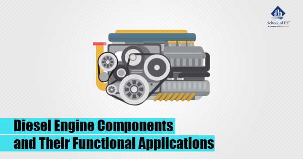 Diesel Engine Components and Their Functional Applications: School of PE