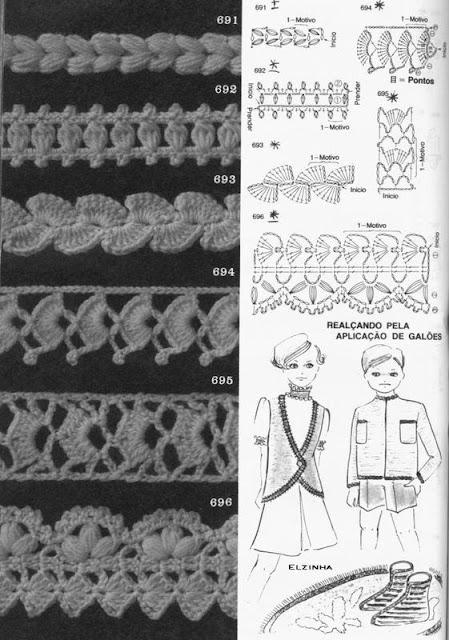 Biquinhos de Crochê Com Gráfico 5