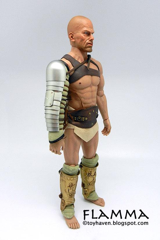 toyhaven: ACI Toys 1/6 Warriors FLAMMA, Gladiator of